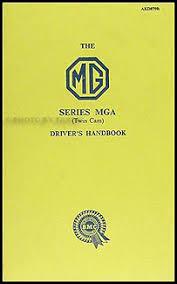 1957 mga wiring diagram wiring diagrams 1955 1962 mga repair manual reprint