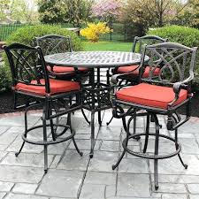 outdoor pub table sets stylish counter height patio furniture as along with