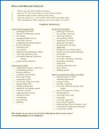 Skills And Abilities On A Resume Fresh Resume Skills And Abilities