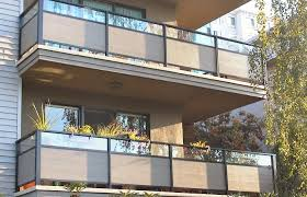 balcony railing privacy covers types