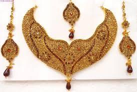 Dubai Gold Designs Catalogue Gold Necklaces Designs In Dubai Bridal Jewellery Sets