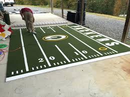 large football area rug large football field rug large football field area rug packers putting green
