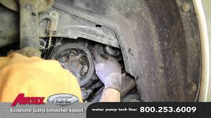 how to install a water pump saturn l wp aw
