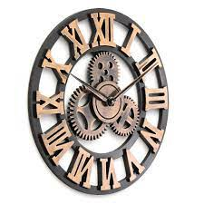 diy large gear wall clock vintage