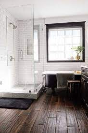 Wood Tiles Bathrooms Remodel Bathroom Inspiration Bathroom Design