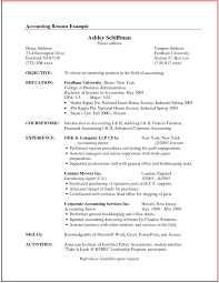 Resume Samples For Accountant Pdf Best Of Resume Samples For
