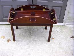 fresh butlers tray coffee table outstanding butler tray coffee table pictures decors voon