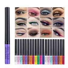 <b>HANDAIYAN 12 Color Liquid</b> Matte Eyeliner | Shopee Malaysia