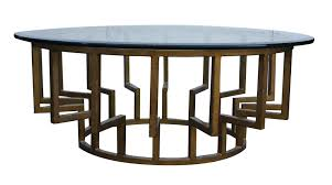 Exceptional New York Round Modern Coffee Table ...