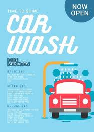 Now Open Flyer Template Online Car Wash Flyer Template Fotor Design Maker