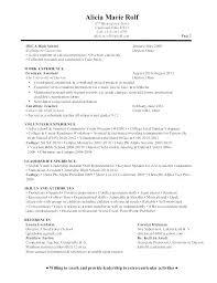 Sample Resume For School Counselor Sample Counselor Resume School Counselor Lesson Plan Template School