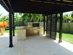 pergola outdoor kitchen comfortable  reasons to place an outdoor kitchen quotfarquot away from the house