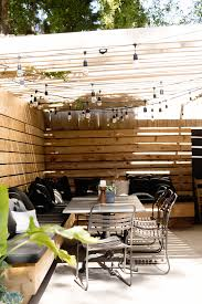 eclectic outdoor furniture. Clever Outdoor Furniture Configuration For A Small Space And I Just Cannot Stop Loving String Lights! The Elysian Edit Eclectic P