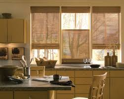 Curtains For Kitchen Windows Tall Clean Pane Classic Design Large Square  Brown Wooden Drapery White Ceramic Backdrop Warm View