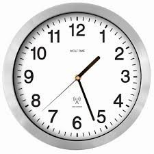 office wall clocks large. Classic Office Wall Clock Wolf Time Clocks Radio Controlled UK MSF Signal Large
