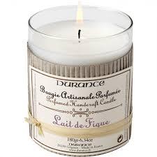 <b>Ароматическая свеча</b> Durance <b>Perfumed</b> Candle Fig Milk, 180 г ...