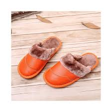 beckywalk floor anti slip winter shoes woman house women shoes genuine leather slippers women plush indoor men slippers wsh3114 shoe size 4 5 color women