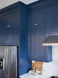 Blue Cabinets Kitchen Blue Kitchen Dark Cabinets Quicuacom