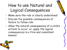 Image result for logical consequences examples