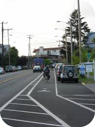 buffered bike lane