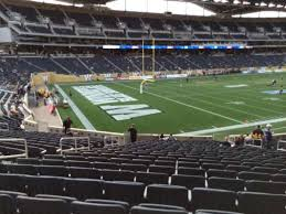 Investors Group Field Section 114 Home Of Winnipeg Blue