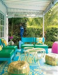 blue and yellow outdoor rug porches covered patio deck gold metallic pouf yellow blue outdoor rug