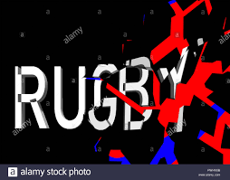 Flyers Theme 3d Rugby Theme Usable For Internet Tickets Flyers And So
