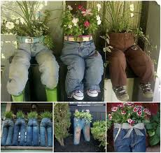 garden design using recycled materials. 40 creative diy garden containers and planters from recycled materials u003e upcycle old design using l