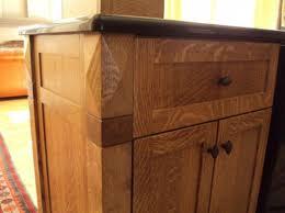 Nice Briliant Quarter Sawn White Oak Kitchen Cabinets | Interior Home Designs ||  Kitchen ||