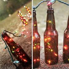 How To Decorate Beer Bottles 60 Sustainable DIY Wine Bottle Outdoor Decorating Ideas 19