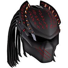 amazon com rezzer predator wolf 13 custom motorcycle helmet