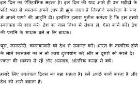 essay co  n independence essay in hindi 15 essay 15 happy independence day