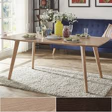 furniture kitchen dining room tables abelone scandinavian dining table by inspire q modern