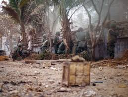 tet offensive remembered armchair general armchair u s troops fire on viet cong sappers attacking bachelor officers quarters in saigon during the tet offensive