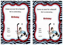 male birthday card lovely 18th birthday invitation templates hockey birthday card template new sweet free printable hockey birthday cards mavraievie