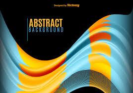 <b>Blue</b> and <b>yellow abstract</b> waves - Download Free Vectors, Clipart ...