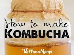 how to make kombucha recipe and tutorial