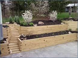 landscaping timbers retaining wall