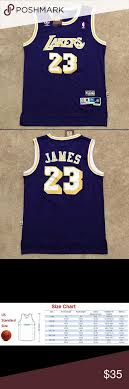 Lebron James Lakers Jersey Throwback Purple Nwt Lebron James