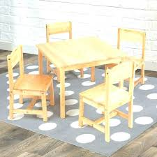 wooden table and chairs for kids table chair table and chair sets farmhouse kids 5 piece wooden table and chairs