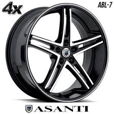 All Chevy chevy 22 inch rims : 4 Asanti ABL-7 22
