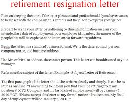 resignation letter format keeping the tone letters of retirement retirement letter to company