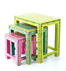 colorful painted furniture. Brightly Painted Furniture Best Colorful Outdoor