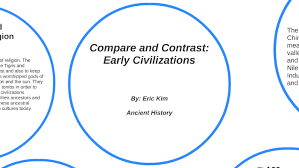 Early River Valley Civilizations Comparison Chart Compare And Contrast Early Civilizations By Eric Kim On Prezi