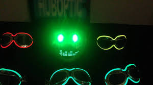 Halloween Mask Light Up Eyes Green Eyes Fx Mask Light Up Bow Ties Party Mask Dj