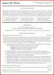 Elegant Accountancy Cv Examples Mailing Format