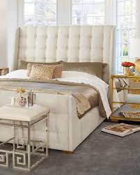 neiman marcus bedroom furniture. Continental Tufted Queen Bed Neiman Marcus Bedroom Furniture N