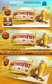 oktoberfest facebook cover template design graphicriver net