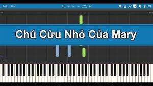 Chú Cừu Nhỏ Của Mary | Synthesia Piano Tutorial