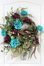spring wreath for front doorFront Doors  Ideas Spring Wreaths For Front Door 4 Spring Wreaths